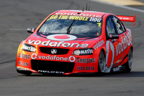 V8 Supercars defending champion Jamie Whincup (file pic)