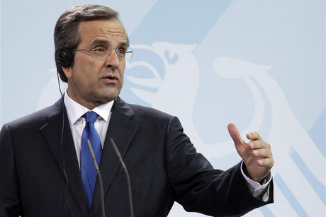 Greek Prime Minister Samaras says his country needs 'time to breathe' (Reuters)