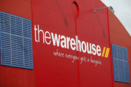 The Warehouse is New Zealand's biggest retailer (file)