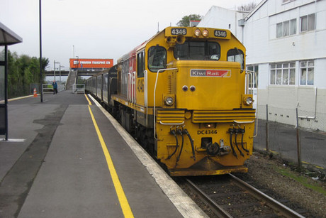 KiwiRail has put their Dunedin workshops up for sale (file)