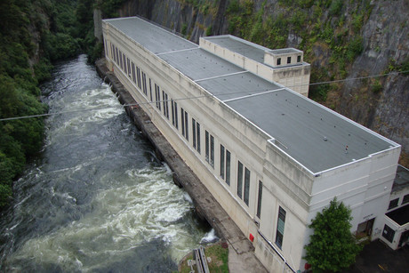 Arapuni Power Station is owned by Mighty River Power