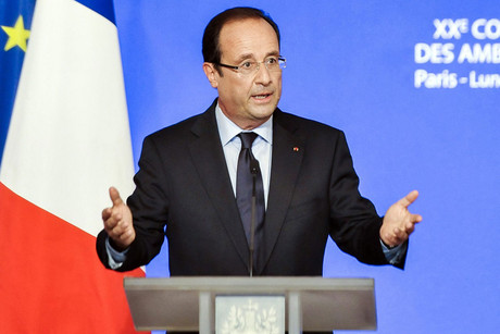 French president Francois Hollande (AAP)
