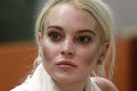 Lindsay Lohan in court (Reuters)