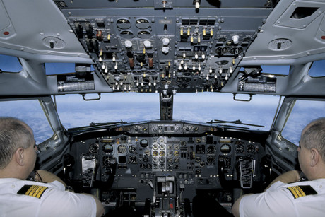 Smartphones and tablet computers are common in the passenger cabin, and pilots are using iPads in the cockpit