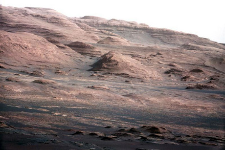 Mars, as photographed by Curiosity (NASA)