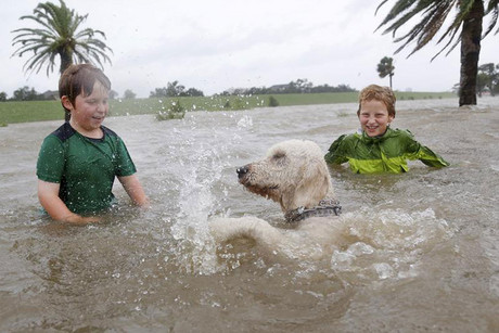 Parts of New Orleans are already flooded as Isaac approaches (Reuters)