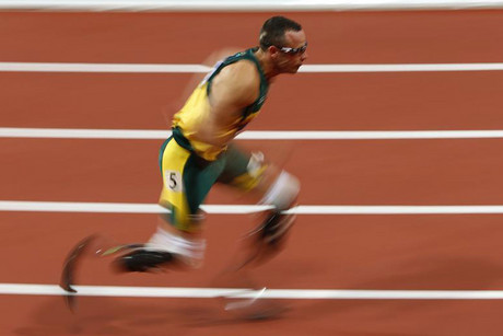 South Africa's Oscar Pistorius was one of the stars of the London Olympics, and is now at the heart of the Paralympic Games (Reuters/David Gray)