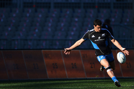 Dan Carter has just joined twitter (Photosport)