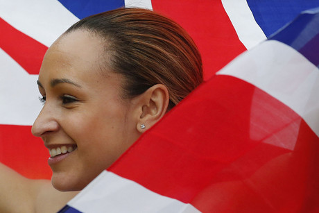 British athletics competitor Jessica Ennis (Reuters/Phil Noble)