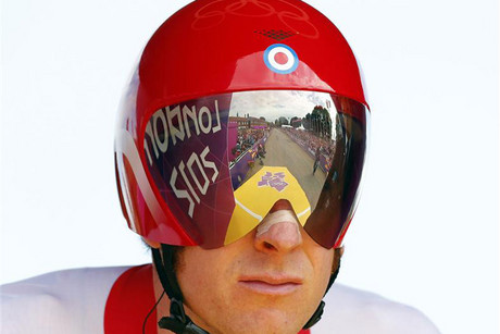 Bradley Wiggins has sparked debate about cycling helmets (Reuters)