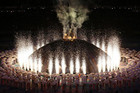The London 2012 Paralympics Opening Ceremony was held today with athletes from all nations welcomed to the Games in a dramatic extravaganza (Reuters)