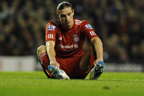 Liverpool's Andy Carroll is off to West Ham (file pic)