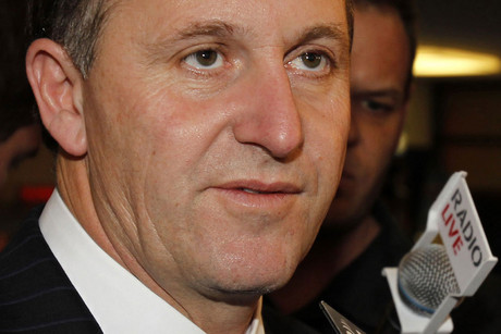 Prime Minister John Key is not happy about the alcohol purchase age vote (file)