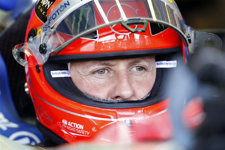 Michael Schumacher (Reuters file)