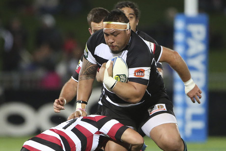 Ben Tameifuna in action for Hawke's Bay (Photosport)