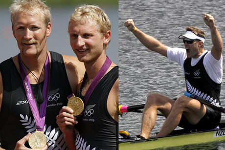 A double golden day for Kiwis in the rowing at Eton Downey (Reuters)