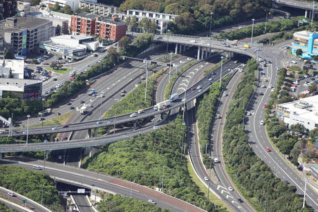 Auckland motorways (file pic)