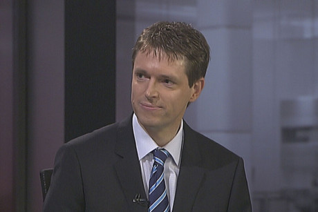Conservative Party leader Colin Craig on TV3's The Nation programme this morning