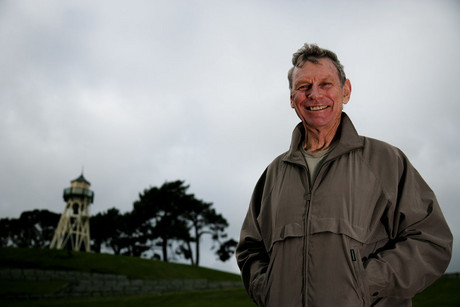 New Zealand running legend Peter Snell poses for a photoshoot at Cooks Gardens, Wanganui, New Zealand (Photosport)