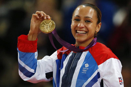 Jessica Ennis has become Britain's golden girl of the Olympics  (Reuters)