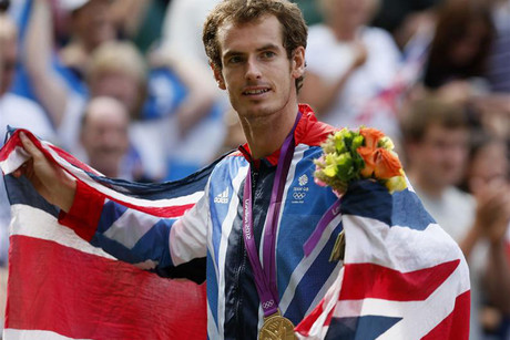 Andy Murray is the Olympic champion (Reuters)