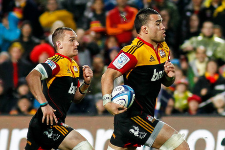Liam Messam, right (Photosport)