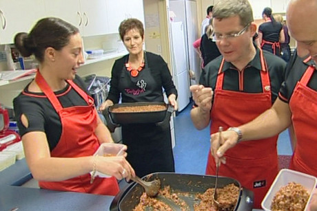 On Saturday, Bellyful, a charity that provides meals for new mums, launched in Christchurch
