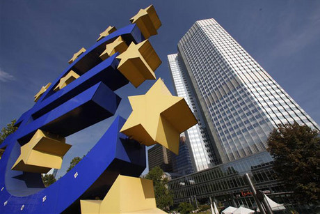 European Central Bank in Frankfurt (Reuters)