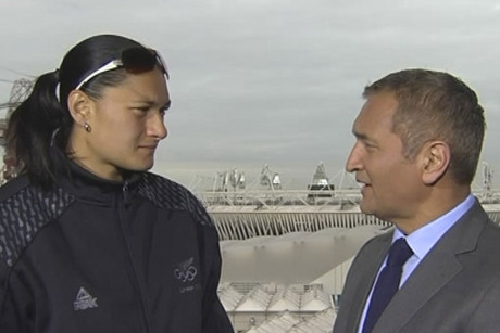 Valerie Adams speaks to 3 News