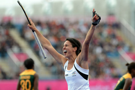 Black Sticks captain Kayla Sharland (Photosport)
