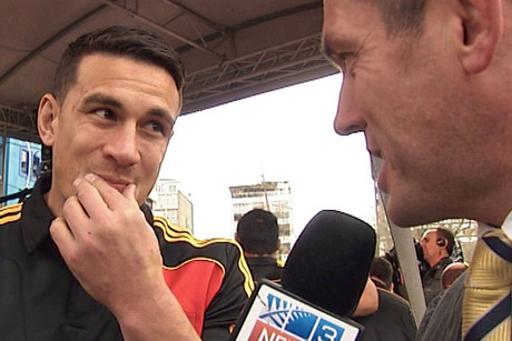Departing Chief Sonny Bill Williams