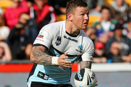 Todd Carney of the Sharks (Photosport)