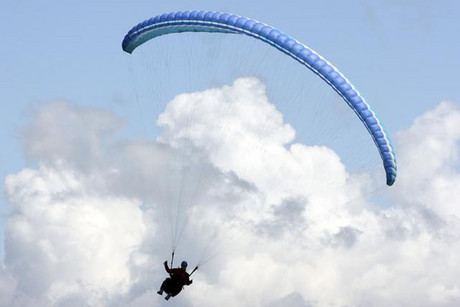 Spain's Interior Ministry have declined to comment on the paragliding link  (Reuters)