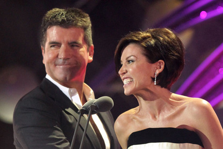 Simon Cowell and Dannii Minogue (AAP)