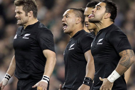 The All Blacks best in the Olympics? (file pic)