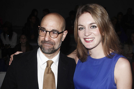 Stanley Tucci and Emily Blunt (Reuters)