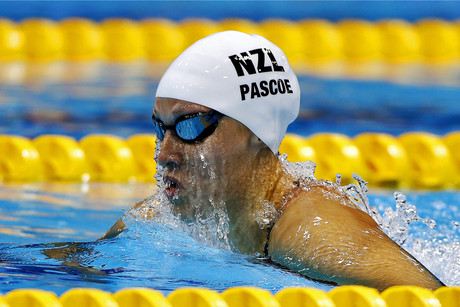 Christchurch swimmer, Sophie Pascoe (pictured), has been awarded a silver medal in her 50 metres freestyle final (AAP)