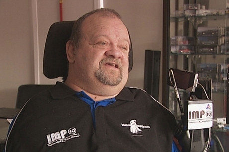 Barry De Geest is one of 15 known Thalidomide survivors in New Zealand