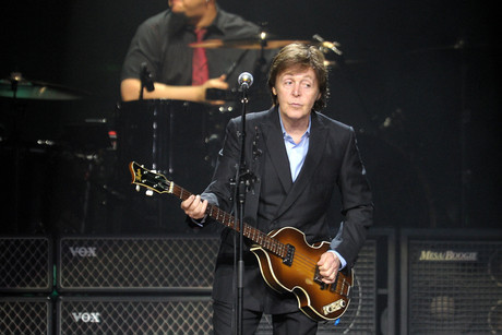 Sir Paul McCartney (AAP)