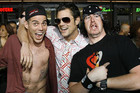 Jackass stars Johnny Knoxville, Steve-O and Ehren McGhehey (Reuters)