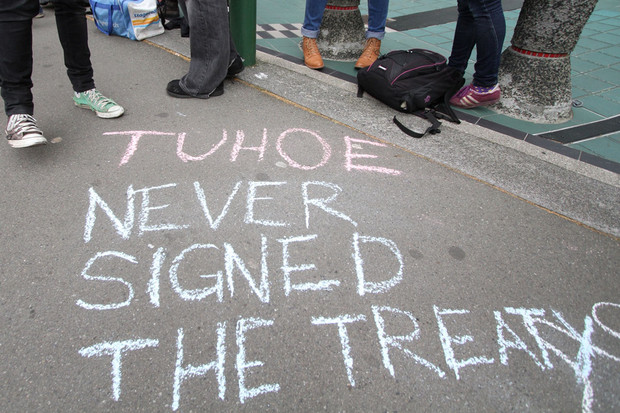 The deal with Tuhoe over the ownership of Te Urewera is monumental (pic: Jared Mason)