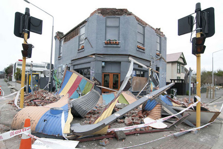 TV 3 is making a news series set in the aftermath of the Christchurch quakes (file)