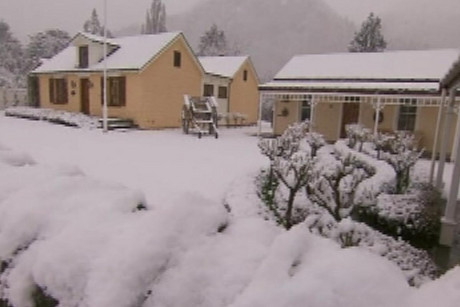 Snow in the South Island will clear over the next few days