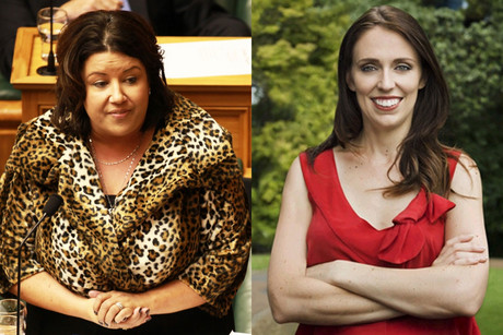 Paula Bennett (left) says the report is robust but Jacinda Ardern (right) says there's nothing new in it