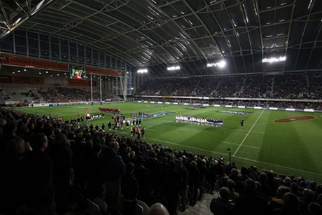 The All Blacks will play at Forsyth Barr Stadium for the first time on Saturday (Photsport)
