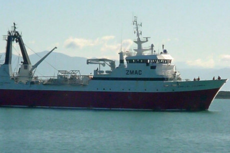 The ship may return to Lyttelton as early as midnight (Photo: Marine Traffic)