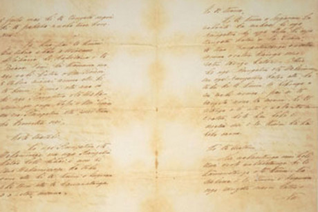 The original Treaty of Waitangi text