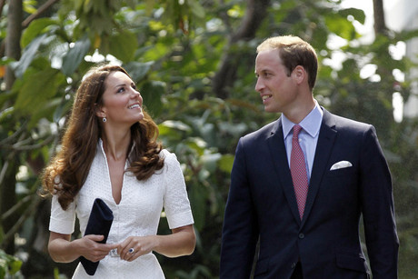 Prince William says he wants two children with Kate (Reuters)