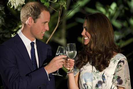 Prince William and Catherine, the Duchess of Cambridge (Reuters)