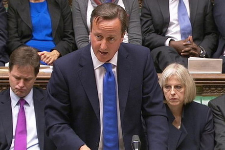 Prime Minister David Cameron apologises in the House of Commons (Reuters)